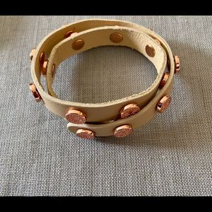 BN Southhill Designs Wrap Bracelet with Rose Gold